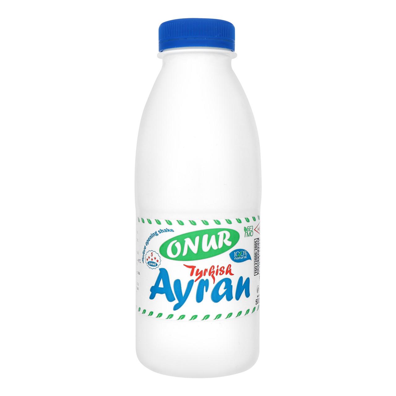 Айран Турецкий, 0,5 л (Turkish Ayran) TM ONUR