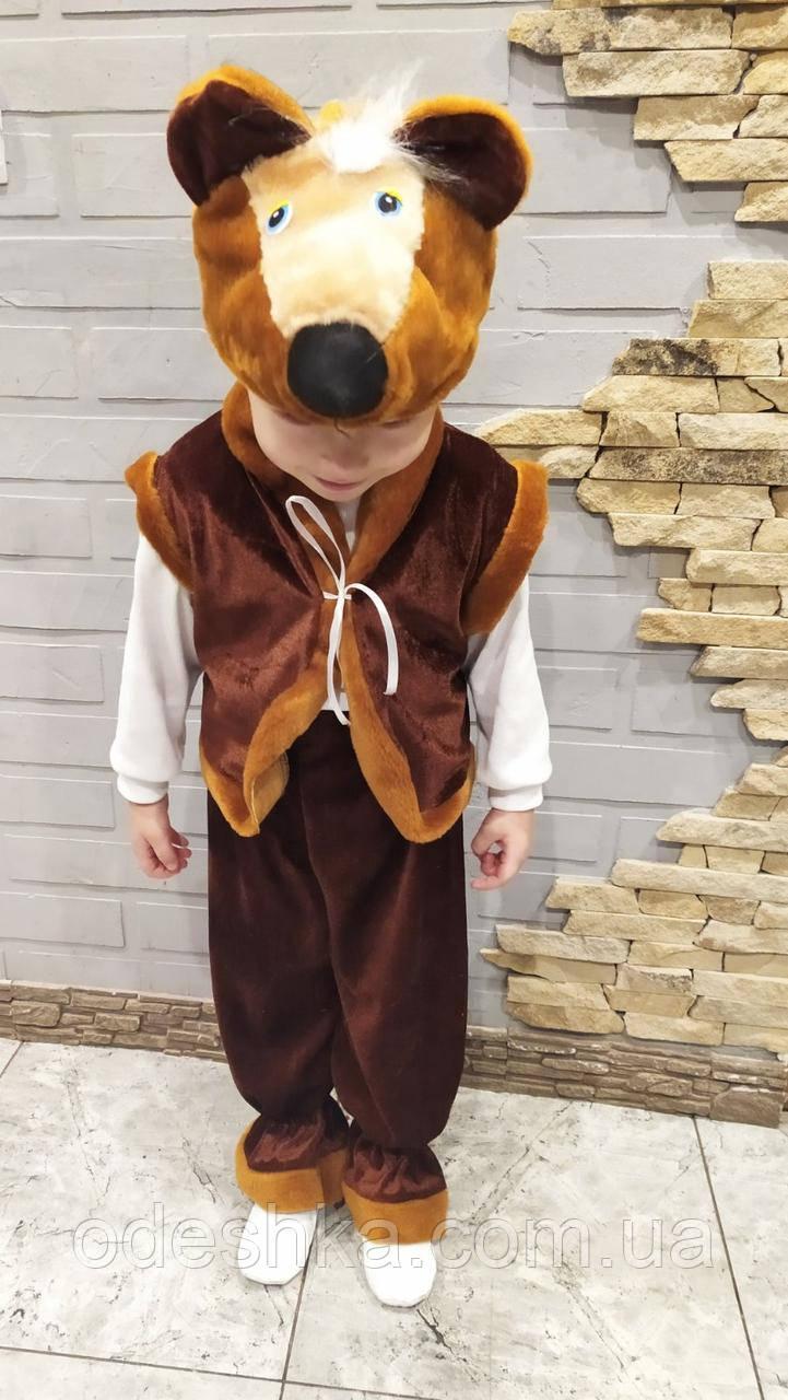 Дитячий карнавальний костюм бурого Ведмедя