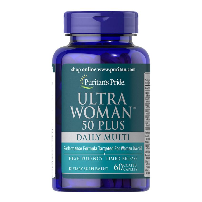 PsP Ultra Woman™ 50 Plus Multi-Vitamin - 60 каплет