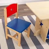 Детский столик + 2 стульчик набор Star KIDKRAFT 26912 (США), фото 2