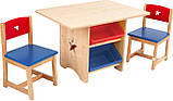 Детский столик + 2 стульчик набор Star KIDKRAFT 26912 (США), фото 8