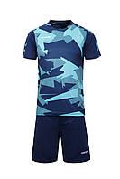 Футбольная форма Europaw 022 т.сине-бирюзовая