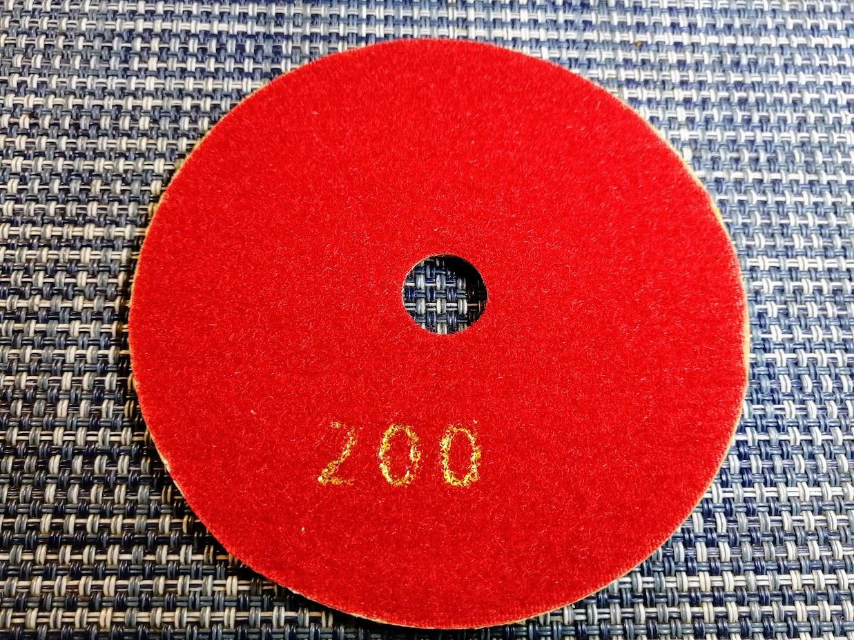 Гибкий алмазный круг (черепашка), TOMAX, Ø100 ММ, зернистость 200