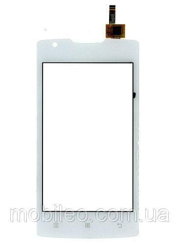 Сенсорный экран (тачскрин) Lenovo A1000m IdeaPhone white