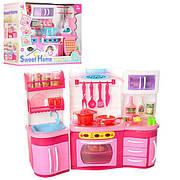 """Набір меблів для ляльки Барбі """"Кухня"""" 2801S - звук, світло, продукти, посуд"""