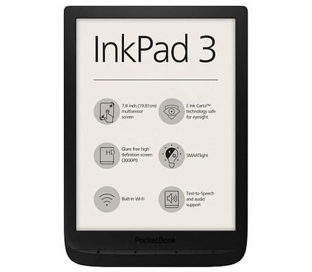 Електронна книга PocketBook 740 InkPad 3 Black, фото 2