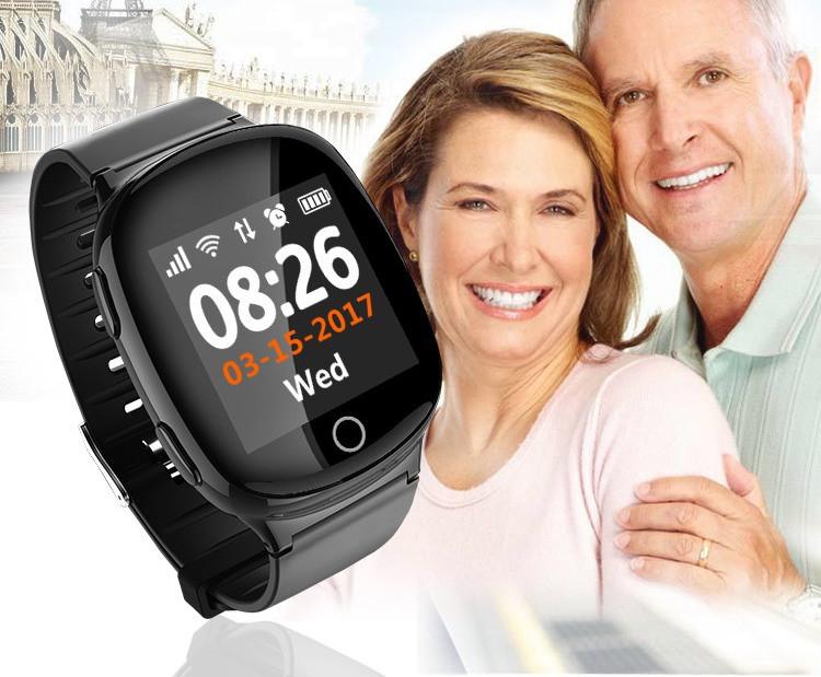 Умные часы Smart GPS D100 для пожилых