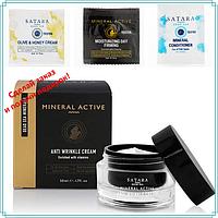 Крем с органическими маслами для омоложения кожи лица, 50 мл, Satara Dead Sea