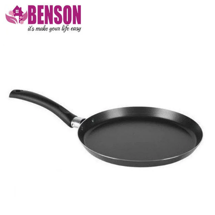 Сковорода млинна з мармуровим антипригарним покриттям Benson BN-507 20 см, фото 2