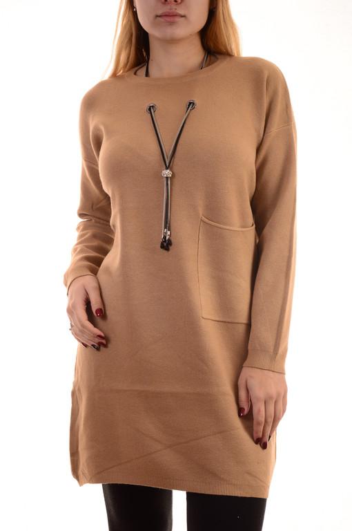 Теплые трикотажные платья оптом New Every Day (лот 10шт по 15Є)