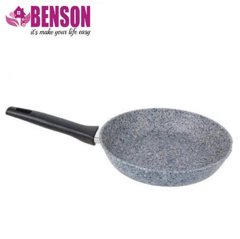 Сковорода з антипригарним гранітним покриттям Benson BN-510 22*5 см   Індукція   Бакелітова ручка