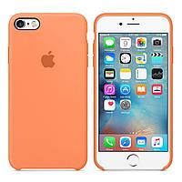 Силиконовый чехол для Apple iPhone 6 Plus / 6S Plus Silicone case (Папайя)