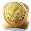 Караоке Микрофон Wster WS-1816 Матовый Золотой, фото 4
