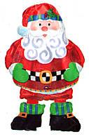 Санта Клаус фольгированный надувной