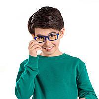 Xiaomi 35% анти-голубые очки дети 18 г квадратные анти-уф-стекло компьютерные игры вождения очки-1TopShop