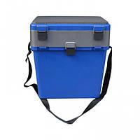 Ящик зимний Тонар (Helios) синий