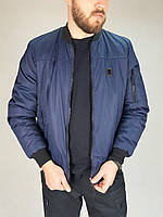 Куртка демісезонна пілот синій 46р, фото 1