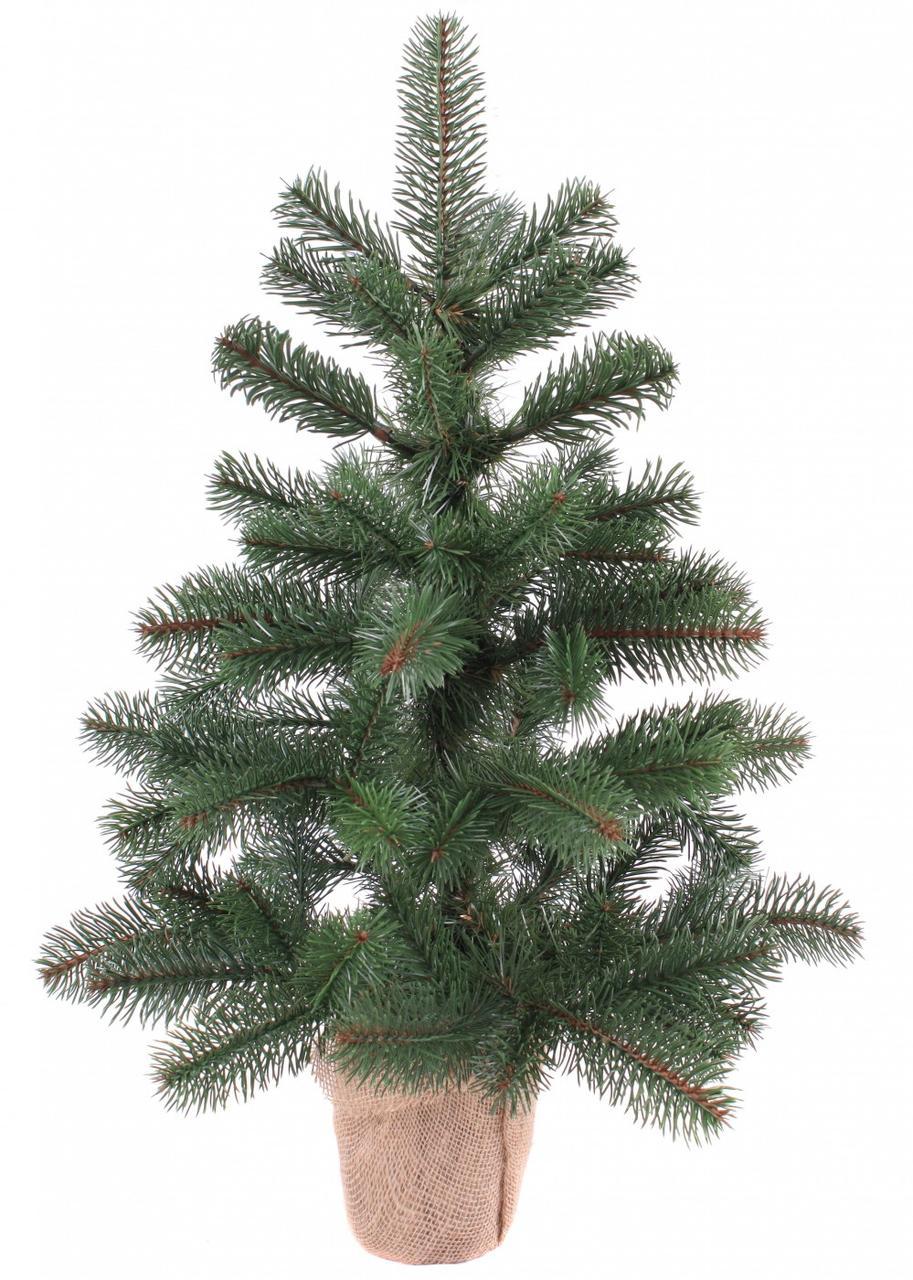 Декор Литая Елка Новогодняя Рождественская Ель Из Литой Искусственной Хвои 70х45см  (ProFit56L)
