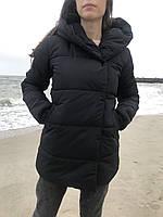 Стильная зимняя куртка с капюшоном