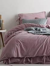 Комплект постельного белья 200x220 LIMASSO NATURAL VIOLETT BAGCIK сиреневый