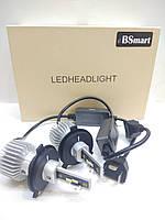 Aвтолампы LED BSmart Extra 7S, H4, 5500K, 8000Lm, 50W, CANBUS, 9-30V, фото 1