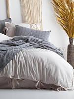 Комплект постельного белья 200x220 LIMASSO NATURAL CREAM BAGCIK бежевый
