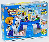 Набор доктора игровой со светом и звуком, 33 прибора пупсик в наборе