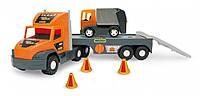 Тягач с мусоровозом Super Tech Truck Wader 36730