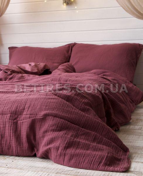 Комплект постельного белья 200x220 LIMASSO RASPBERRY MUSLIN