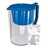"""Фільтр-глечик для очищення води """"Бриз"""" (синій), фото 2"""