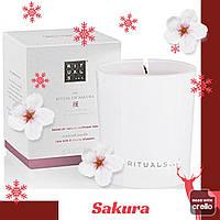 Ароматическая Свеча. Ritual of Sakura.  Производство Нидерланды. 290 гр, ( горит до 50 часов)