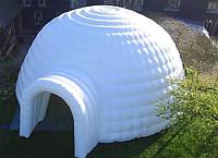 Игло надувная палатка тент пневмокупол Украинского производителя/ igloo inflatable tent