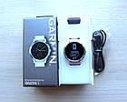 Смарт-годинник Garmin Vivoactive 3 Stainless with White Band з білим ремінцем, фото 6