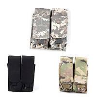 NylonTacticalMolleDoubleMagazineЧехол для патрона для картриджей для M4/M16 Аксессуары для охотничьего оружия-1TopShop