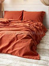 Комплект постельного белья 200x220 LIMASSO MECCA ORANGE STANDART оранжевый