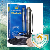 Глубинный скважинный водяной насос для скважин для дома в колодец Водолей БЦПЭ 0,5-32У
