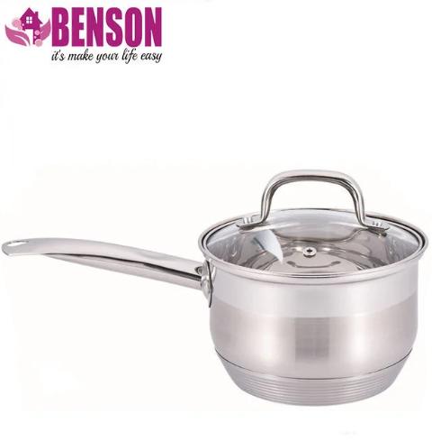 Ківш з кришкою з нержавіючої сталі Benson BN-228 1.6 л