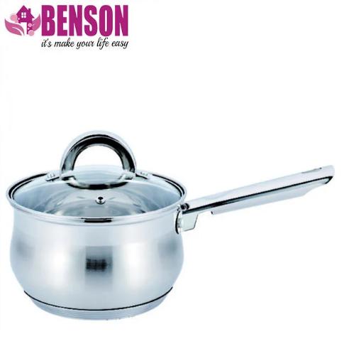 Ківш з кришкою з нержавіючої сталі Benson BN-225 1.6 л