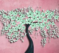 Фотообои  Дерево с цветами  арт. 190720181