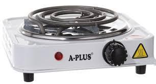 Электроплита A-PLUS 2101 спиральная,настольная на 1 комфорку 1000Вт
