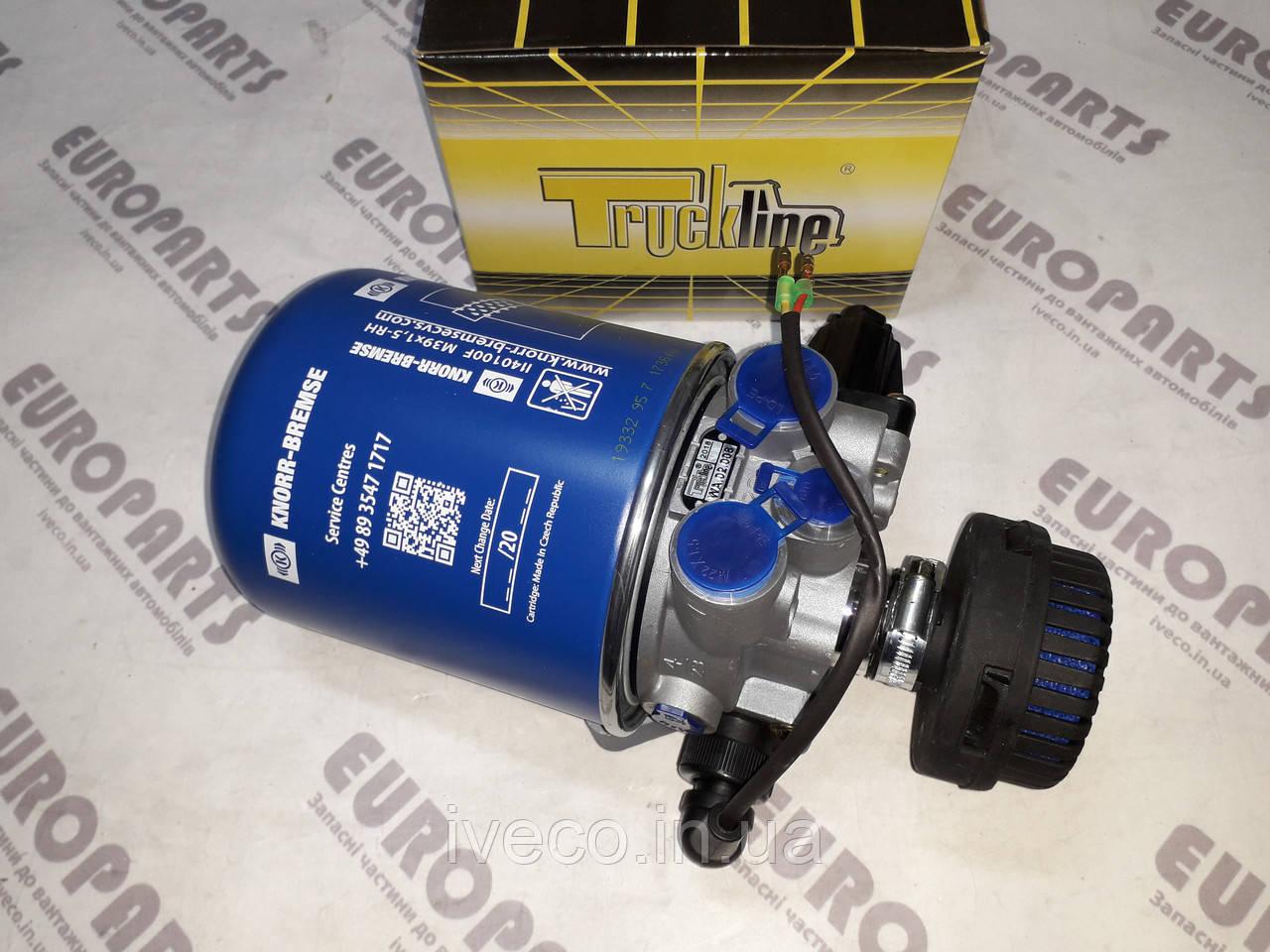 Кран осушителя воздуха  MAN DAF MB IVECO 12.5 bar с глушилкой кабелем подогревом с фильтром 4324101100 LA6222