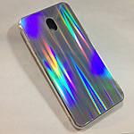 Чехол для Xiaomi Redmi 8A Holografic Silver, фото 2