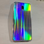 Чехол для Xiaomi Redmi 8A Holografic Silver, фото 3