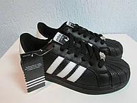 Кроссовки Adidas Superstar Foundation натуральная кожа В 670 код 554А