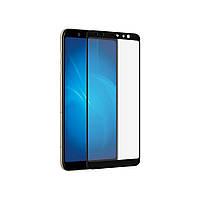 Защитное Стекло Full Glue 9H Samsung A6 2018 A600 Black - 193682