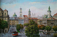Картина для подарка «Городской пейзаж»