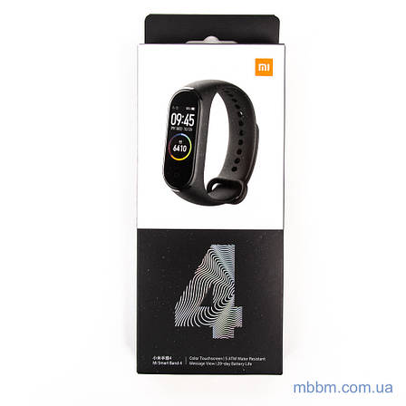 Фитнес-браслет Xiaomi Mi Band 4 [Global] Black Оригинал! (MGW4052GL) EAN/UPC: 6934177710377, фото 2
