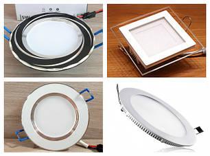 Светильники светодиодные встраиваемые LED