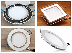 Светодиодные светильники (led панели) встраиваемые