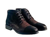 Черевики Etor 15871-10081 чорно-коричневий, фото 1